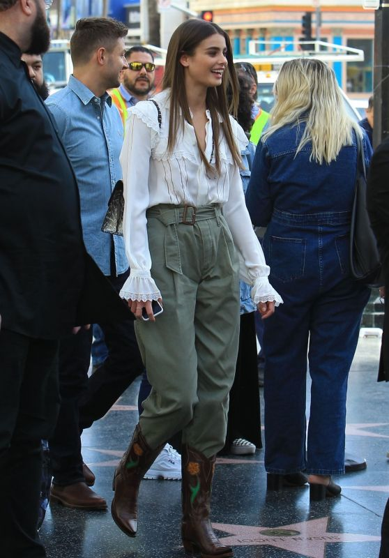 Taylor Hill and Michael Stephen Shank - Ralph Lauren Pop Up Shop in Hollywood 01/24/2019