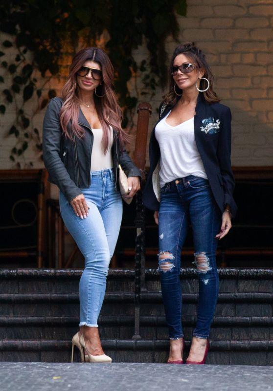 Teresa Giudice and Danielle Staub - Chateau Marmont in LA 01/28/2019
