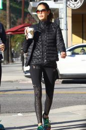 Teri Hatcher in Tights - Out in Studio City 01/03/2019