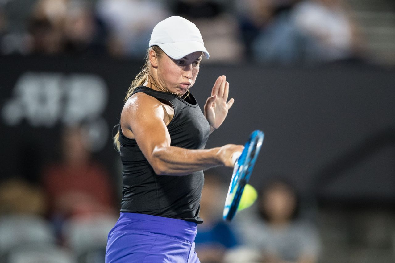 Yulia Putintseva - 2019 Sydney International Tennis 01/09 ...