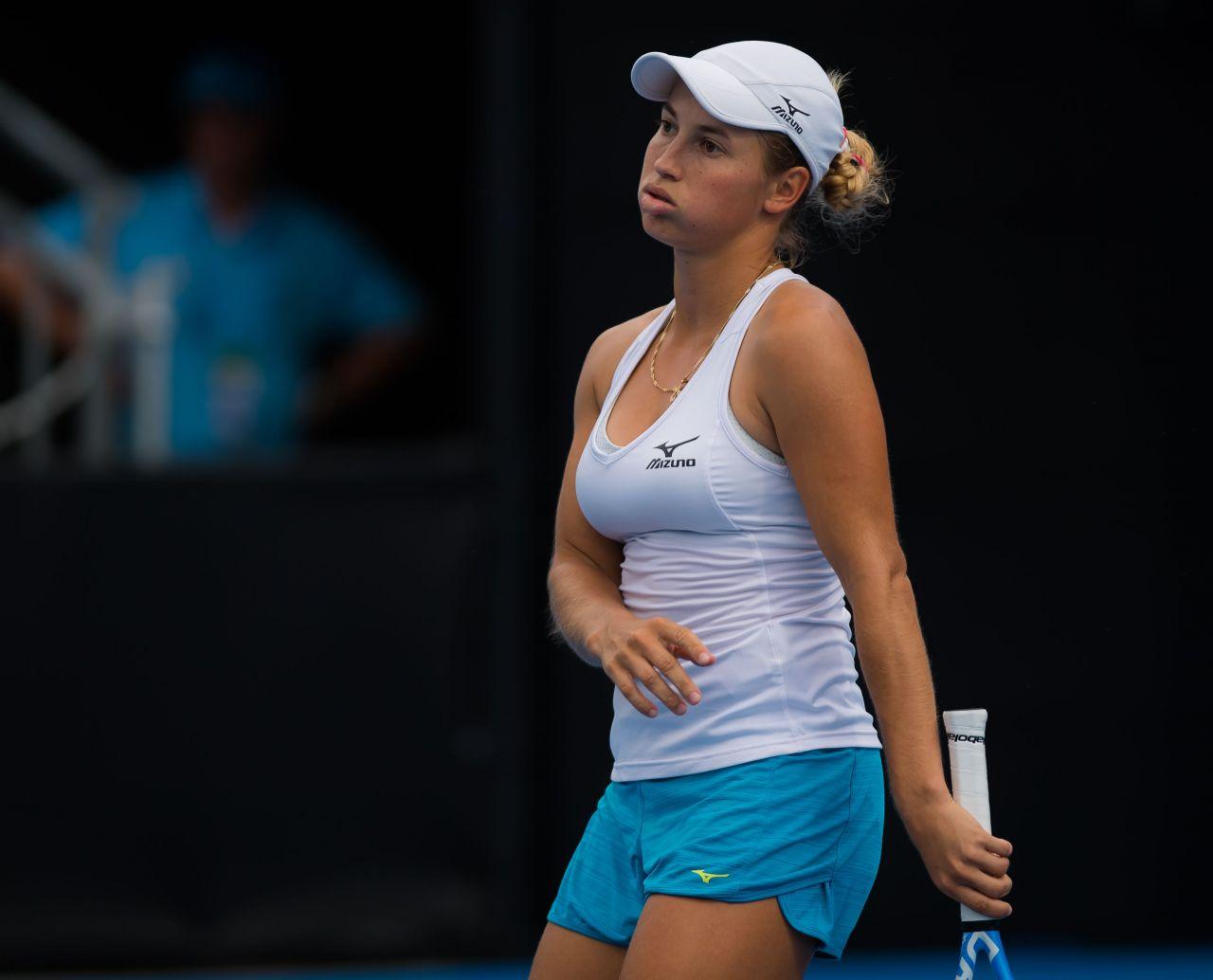 Yulia Putintseva - 2019 Sydney International Tennis 01/10 ...