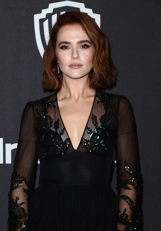 Zoey Deutch – InStyle and Warner Bros Golden Globes 2019 After Party