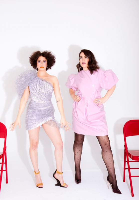 Abbi Jacobson and Ilana Glazer - Photoshoot for WWD, January 2019