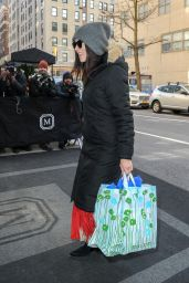 Abigail Spencer - Arrives at The Mark Hotel in NYC 02/19/2019