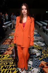 Aimee Lou Wood - House of Holland Fashion Show, London Fashion Week 02/16/2019