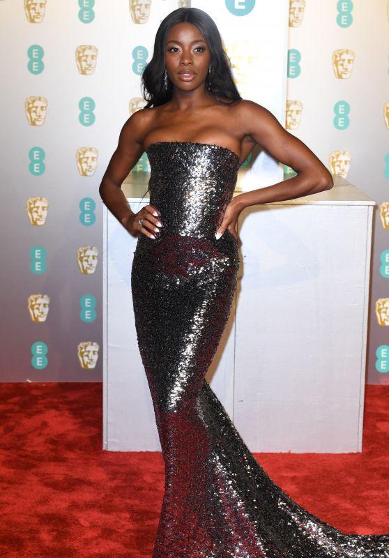 AJ Odudu – BAFTA 2019