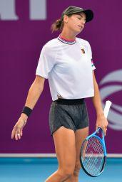 Ajla Tomljanovic – Qualifying for 2019 WTA Qatar Open in Doha 02/10/2019