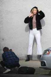 Alana Hadid - Photoshoot in West Hollywood 02/04/2019
