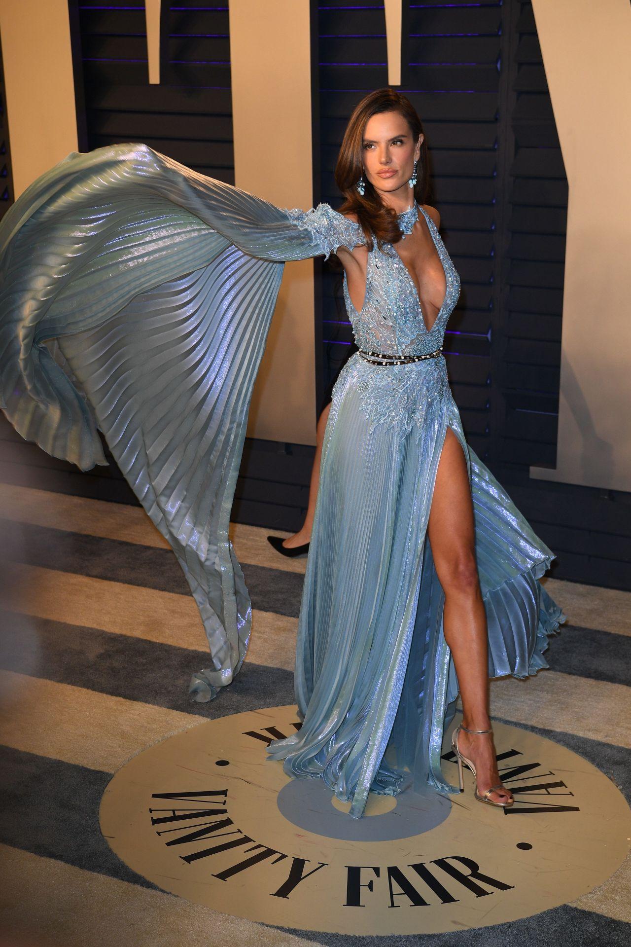 Alessandra Ambrosio 2019 Vanity Fair Oscar Party