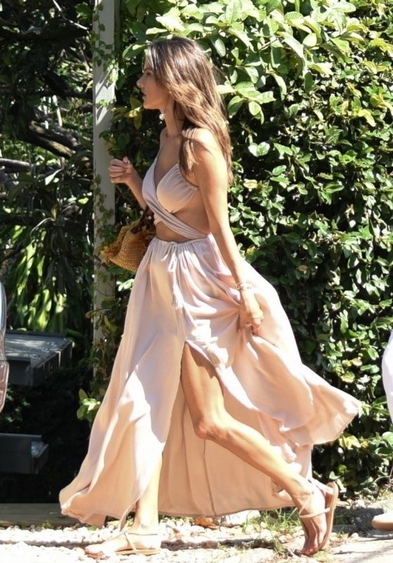 Alessandra Ambrosio - Out in Florianopolis 02/02/2019
