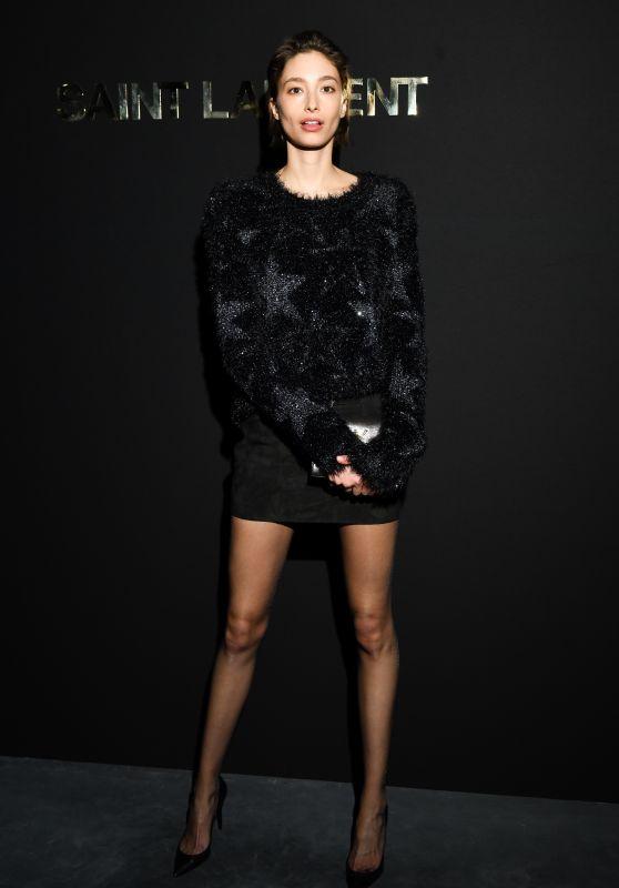 Alexandra Agoston – Saint Laurent Fashion Show in Paris 02/26/2019
