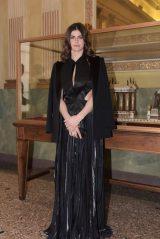 Alexandra Daddario - Genny Fashion Show in Milan 02/21/2019
