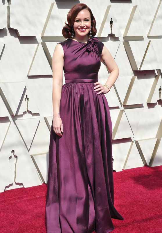 Alicia Malone – Oscars 2019 Red Carpet
