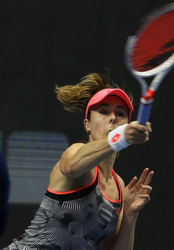 Alize Cornet – WTA St. Petersburg Ladies Trophy 01/30/2019
