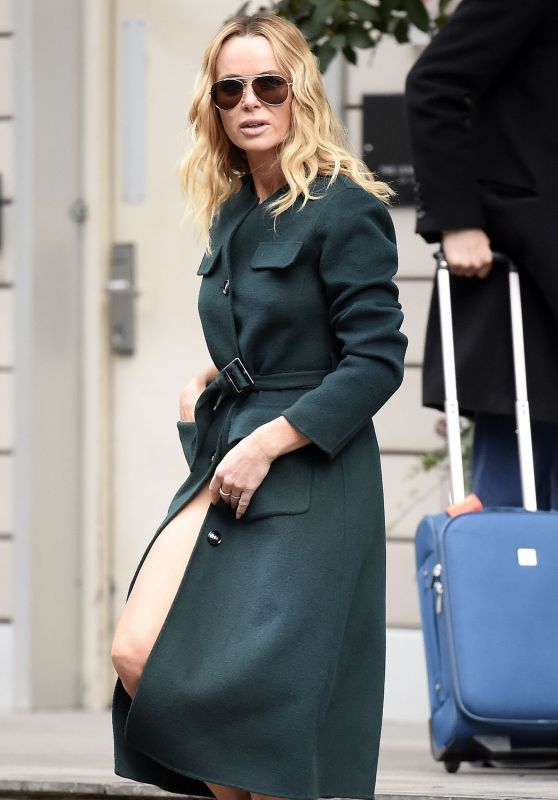 Amanda Holden - Leaving Her Hotel in Manchester 02/07/2019