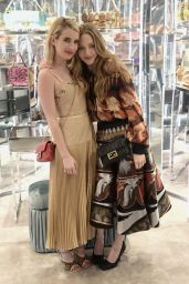Amanda Seyfried and Emma Roberts - Fendi Celebrates Baguette in NYC 02/07/2019