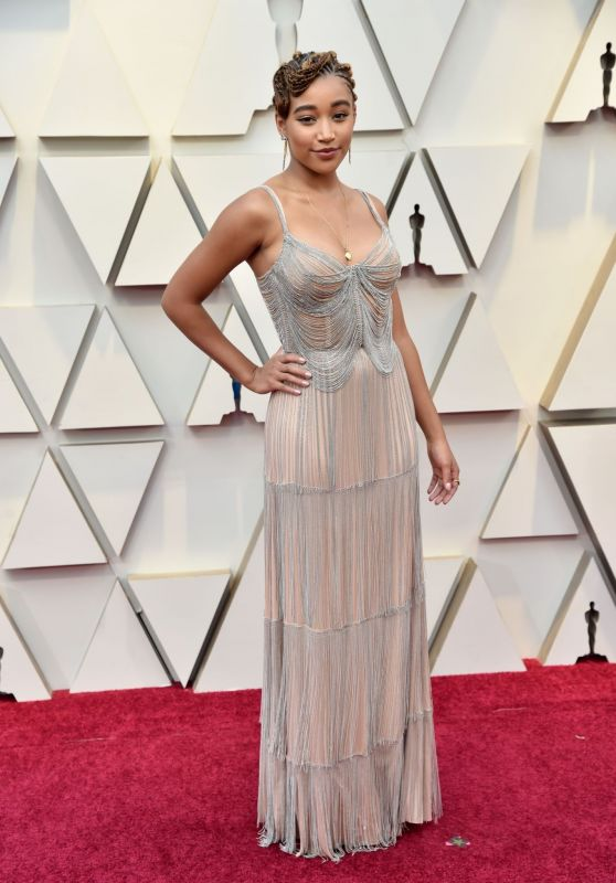 Amandla Stenberg - Oscars 2019 Red Carpet