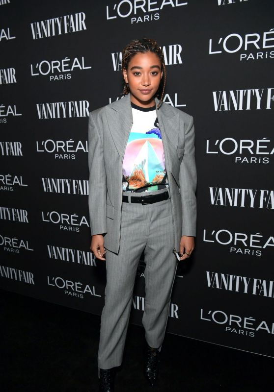 Amandla Stenberg – Vanity Fair & LOréal Paris Celebrate New Hollywood 02/19/2019