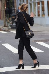 Amber Heard - Heading to a Business Meeting 02/08/2019