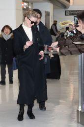 Amber Heard - Narita International Airport in Japan 02/02/2019