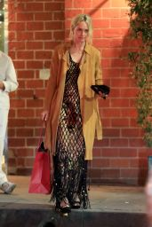 Amber Valletta at Mr. Chow in Beverly Hill 01/30/2019