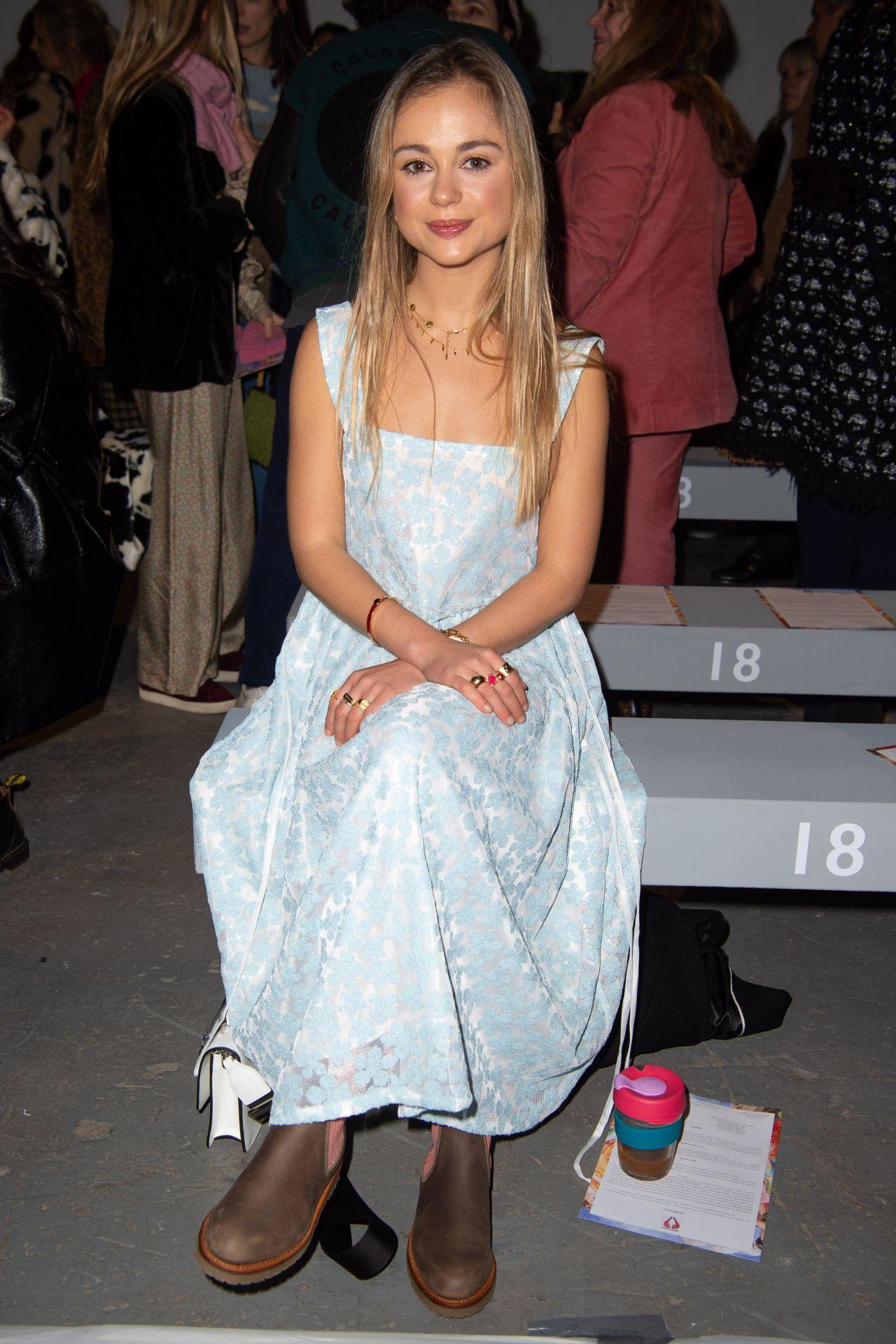 c17333cfe Amelia Windsor - Shrimps Fashion Show in London 02/19/2019