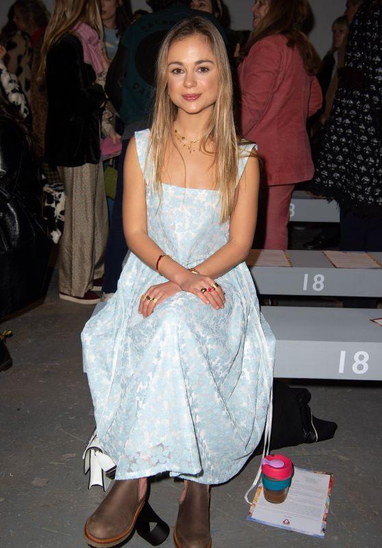 Amelia Windsor - Shrimps Fashion Show in London 02/19/2019