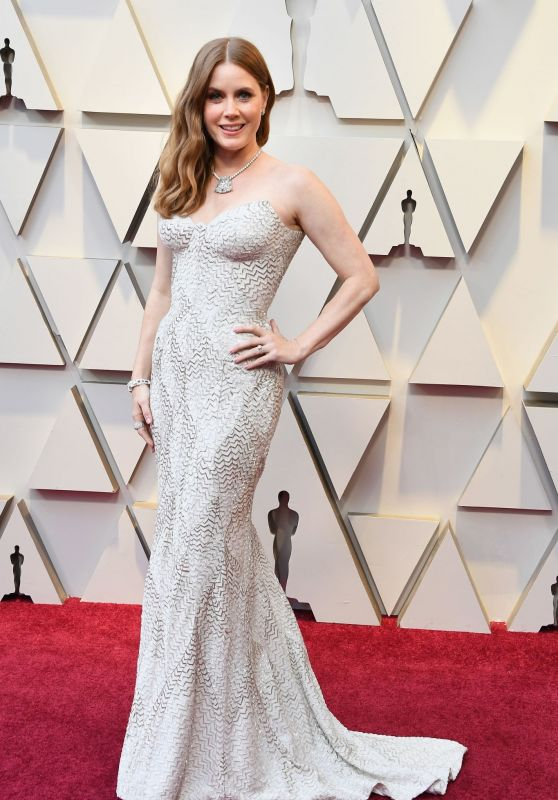 Amy Adams – Oscars 2019 Red Carpet
