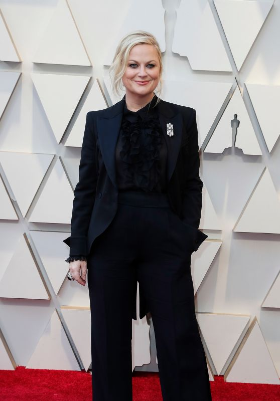 Amy Poehler – Oscars 2019 Red Carpet