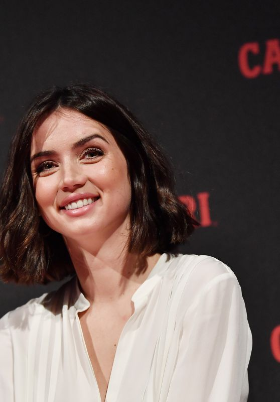 Ana de Armas - Campari Red Diaries 2019 Press Conference in Milan 02/05/2019