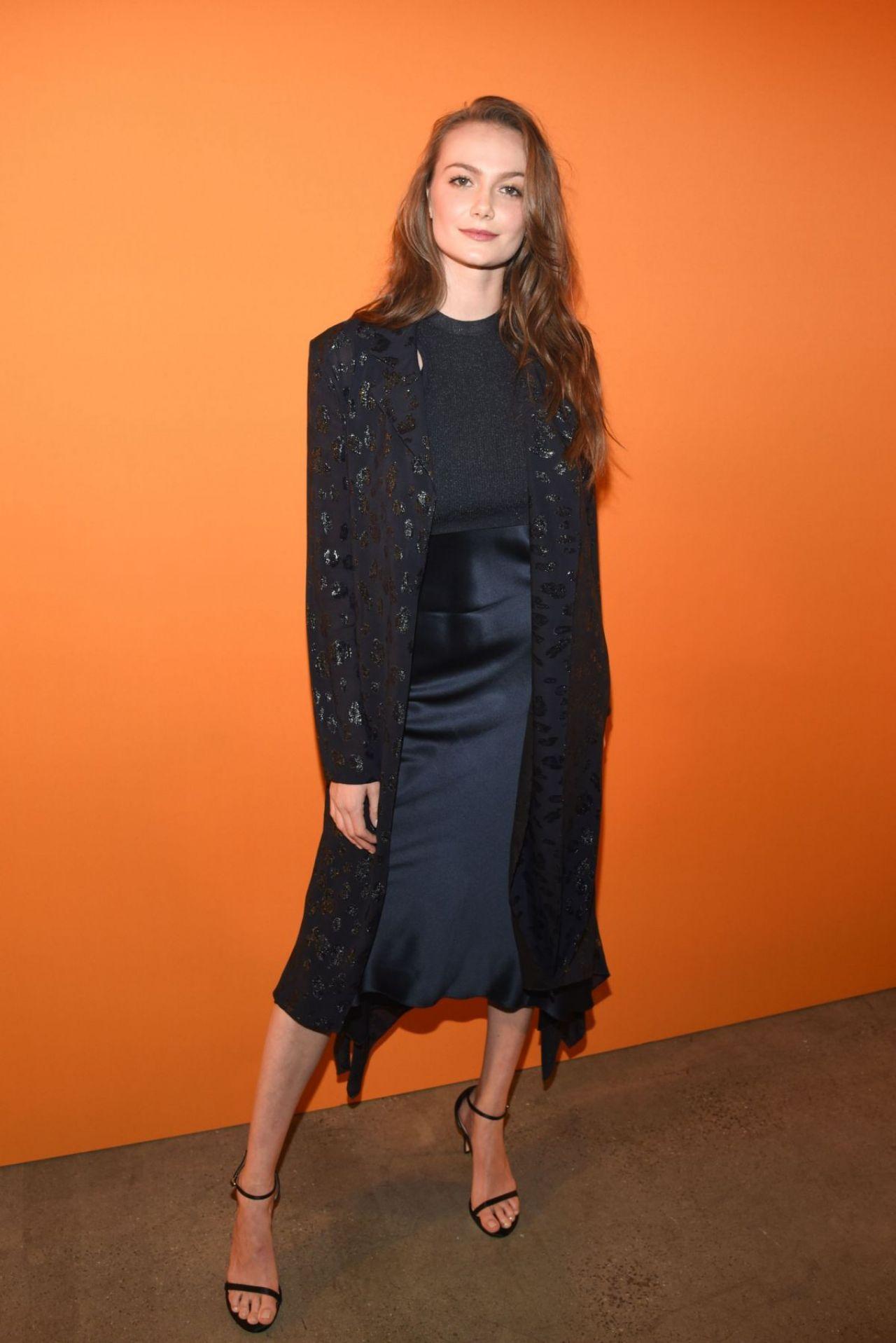 Cushnie Fashion Show At New York Fashion