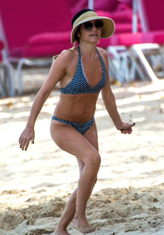 Andrea Corr in Bikini in Barbados 02/19/2019