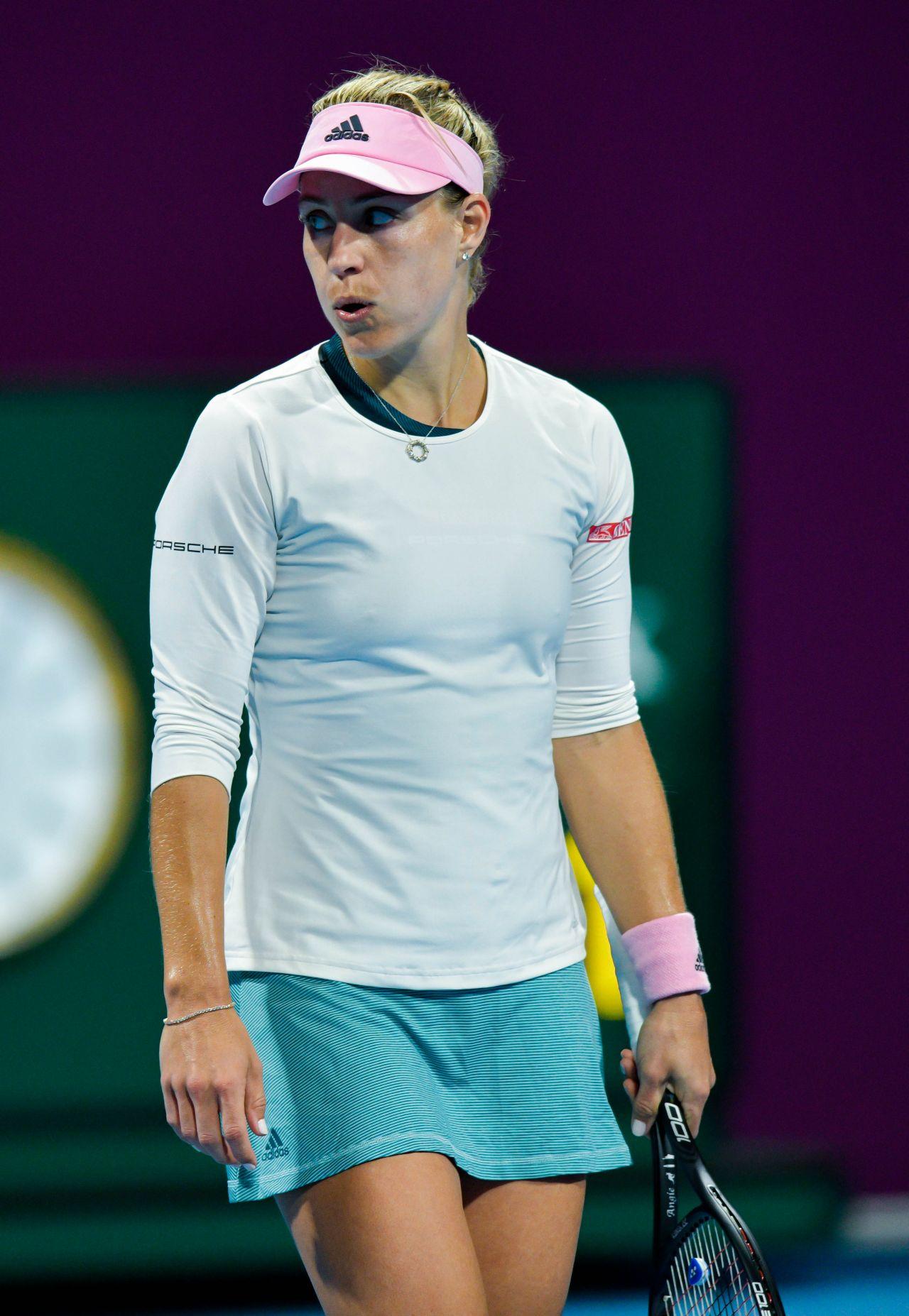 Angelique Kerber 2019 Wta Qatar Open In Doha 02 13 2019