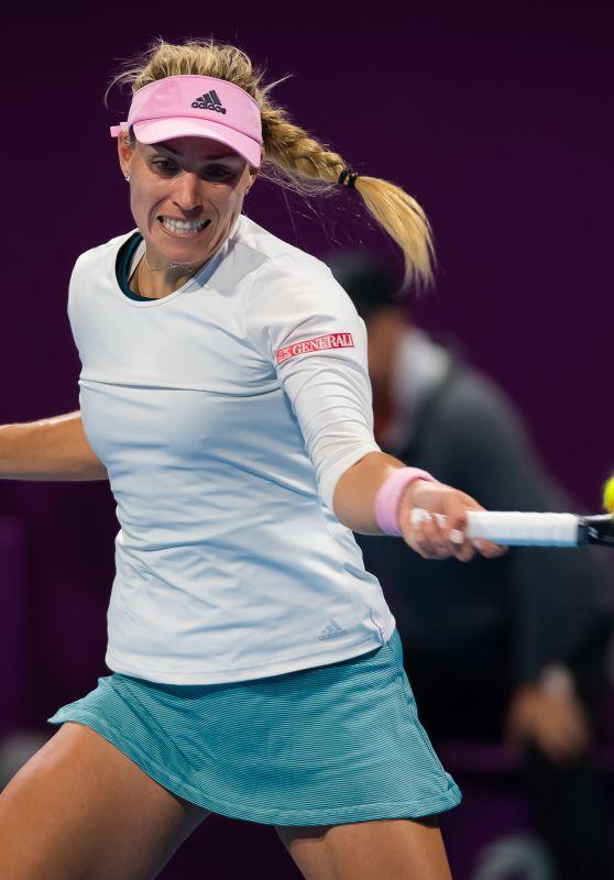 Angelique Kerber – 2019 WTA Qatar Open in Doha 02/14/2019
