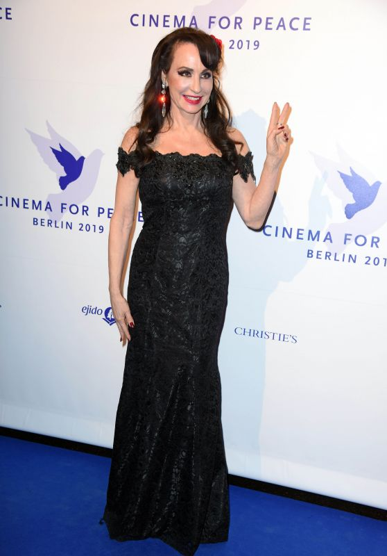Anna Maria Kaufmann – Cinema for Peace Gala at the 69. Berlinale 02/11/2019