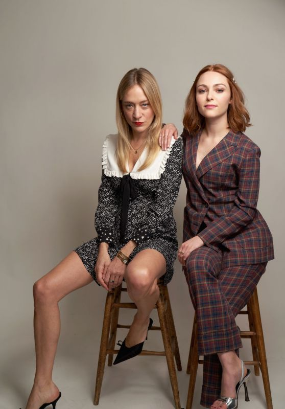 AnnaSophia Robb and Chloe Sevigny - Winter TCA Portrait Session in Pasadena 02/11/2019