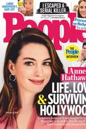 Anne Hathaway - People USA 02/11/2019
