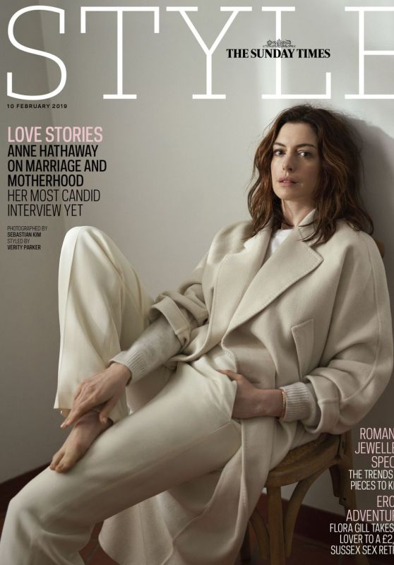 Anne Hathaway - The Sunday Times Style February 2019