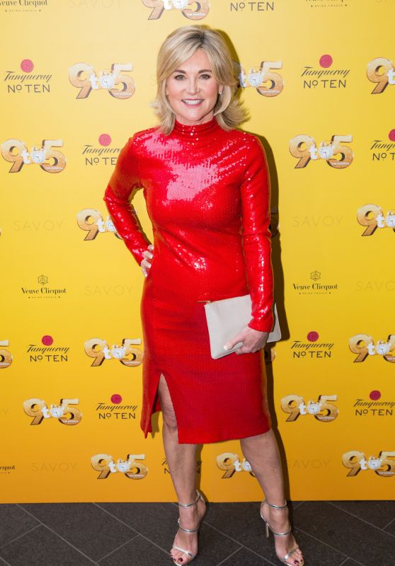 "Anthea Turner – ""9 to 5 The Musical"" Gala Evening in London 02/17/2019"