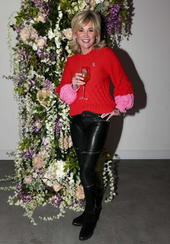 Anthea Turner - Pink Ribbon Charity Lunch in London 01/30/2019