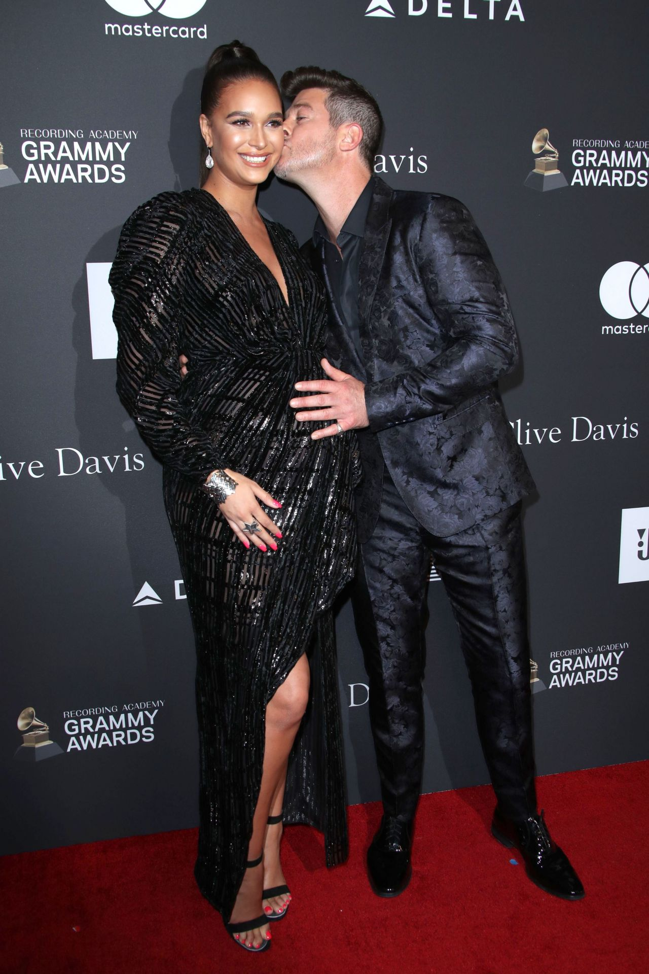 April Love Geary Clive Davis 2019 Pre Grammy Gala
