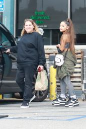 Ariana Grande - Grocery Shopping at Whole Foods in West Hollywood 02/17/2019