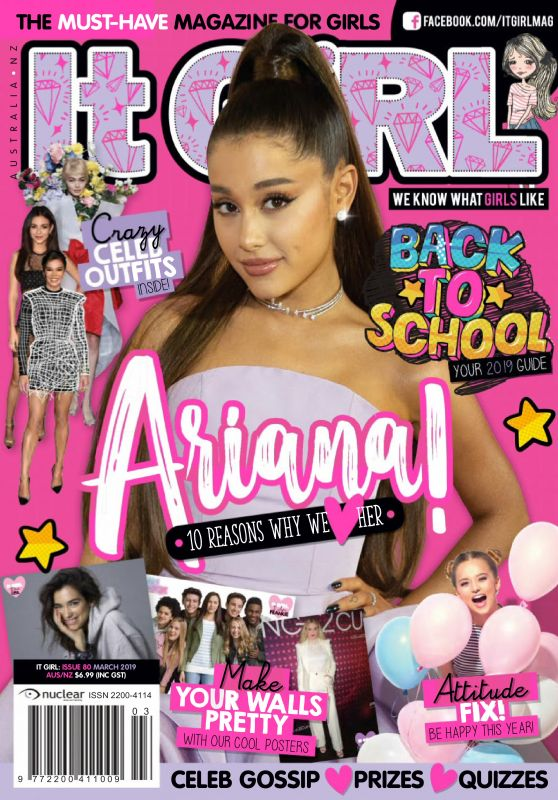 Ariana Grande - It Girl Magazine March 2019 Issue