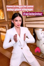 Ariel Winter - Personal Pics and Video 02/14/2019