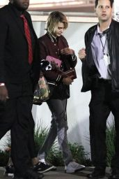 Ashley Benson and Cara Delevingne - Elton John