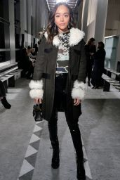 Ashley Madekwe – Longchamp Fashion Show in NYC 02/09/2019