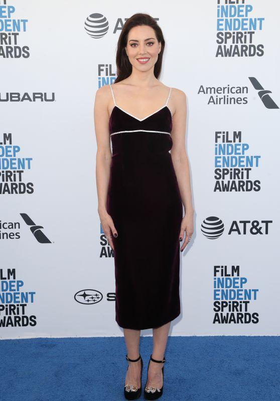 Aubrey Plaza – 2019 Film Independent Spirit Awards