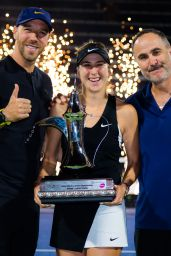 Belinda Bencic Takes the Trophy - 2019 Dubai Duty Free Tennis