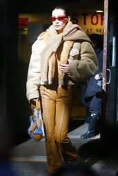 Bella Hadid - Arriving at the Michael Kors Fashion Show in NYC 02/13/2019