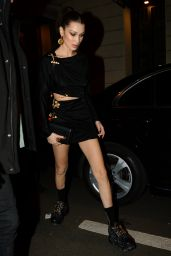 Bella Hadid Night Out Style - Milan 02/22/2019
